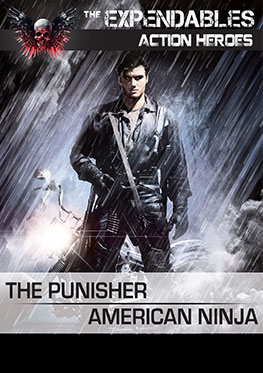 2-pack Expandables The Punisher – American Ninja