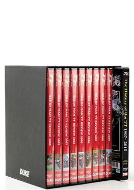 TT History 2000-09 Boxset incl TT History 1907-2015