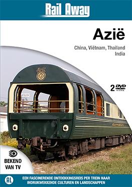 Rail Away – Azië (2 dvd)