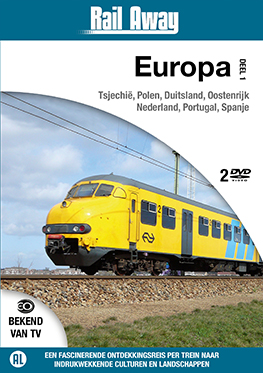 Rail Away – Europa deel 1 (2 dvd) <br>