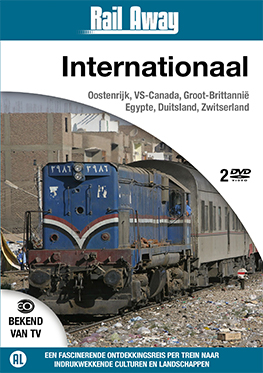 Rail Away – Internationaal (2 dvd)
