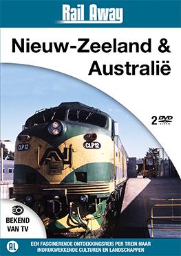 Rail Away – Nieuw-Zeeland & Australië (2 dvd)<br><br>