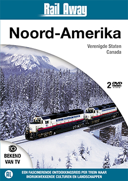 Rail Away – Noord-Amerika (2 dvd)