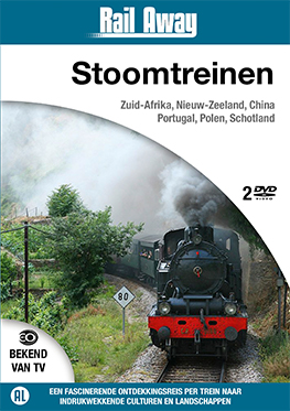 Rail Away – Stoomtreinen (2 dvd)