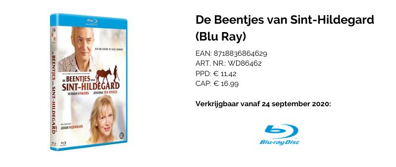 INFO Beentjes van Sint-Hildegard Blu Ray